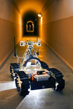 Sandia Labs' Gemini Scout Robot