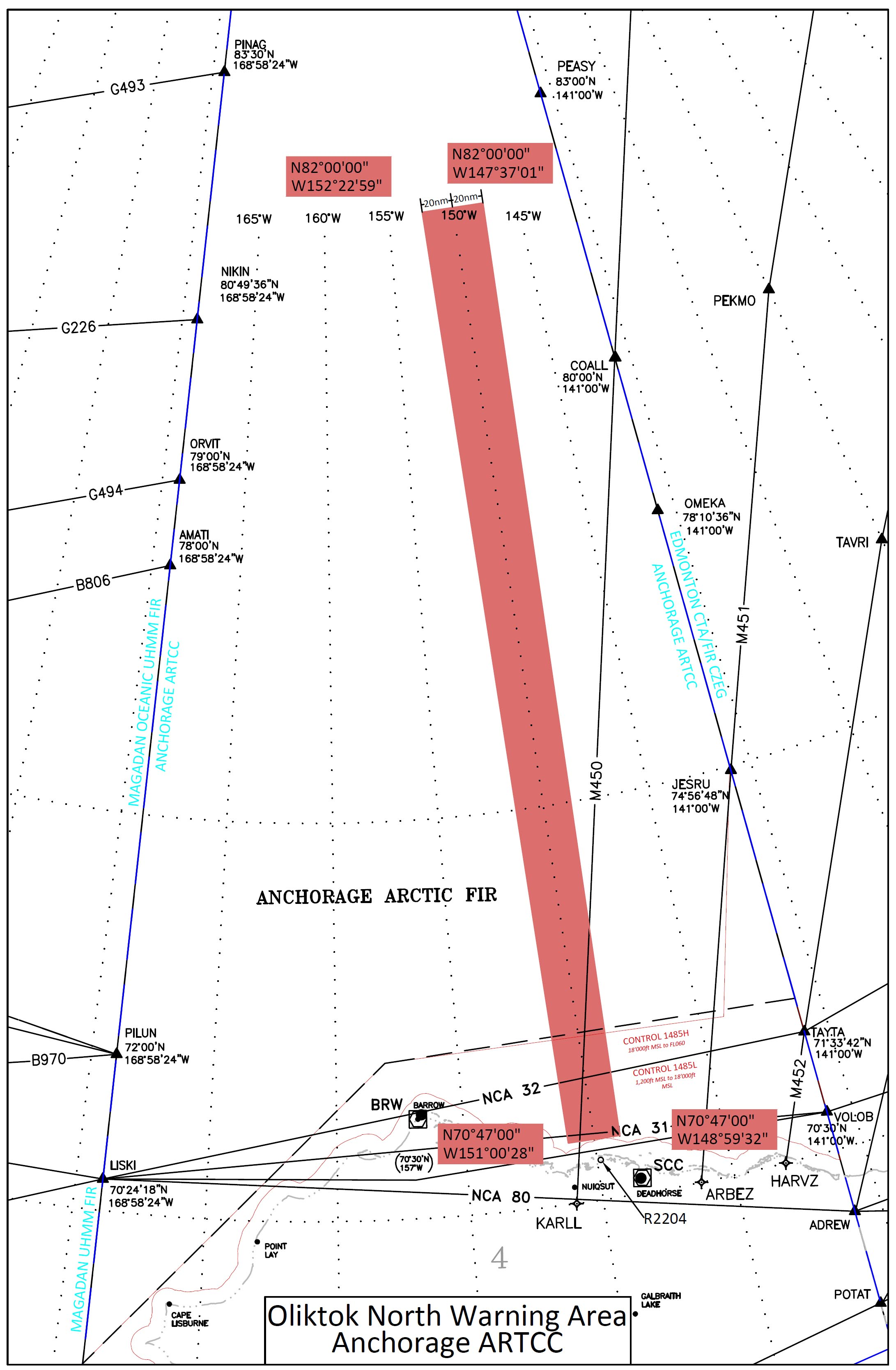Sandia National Laboratories: News Releases : Warning Area in Arctic