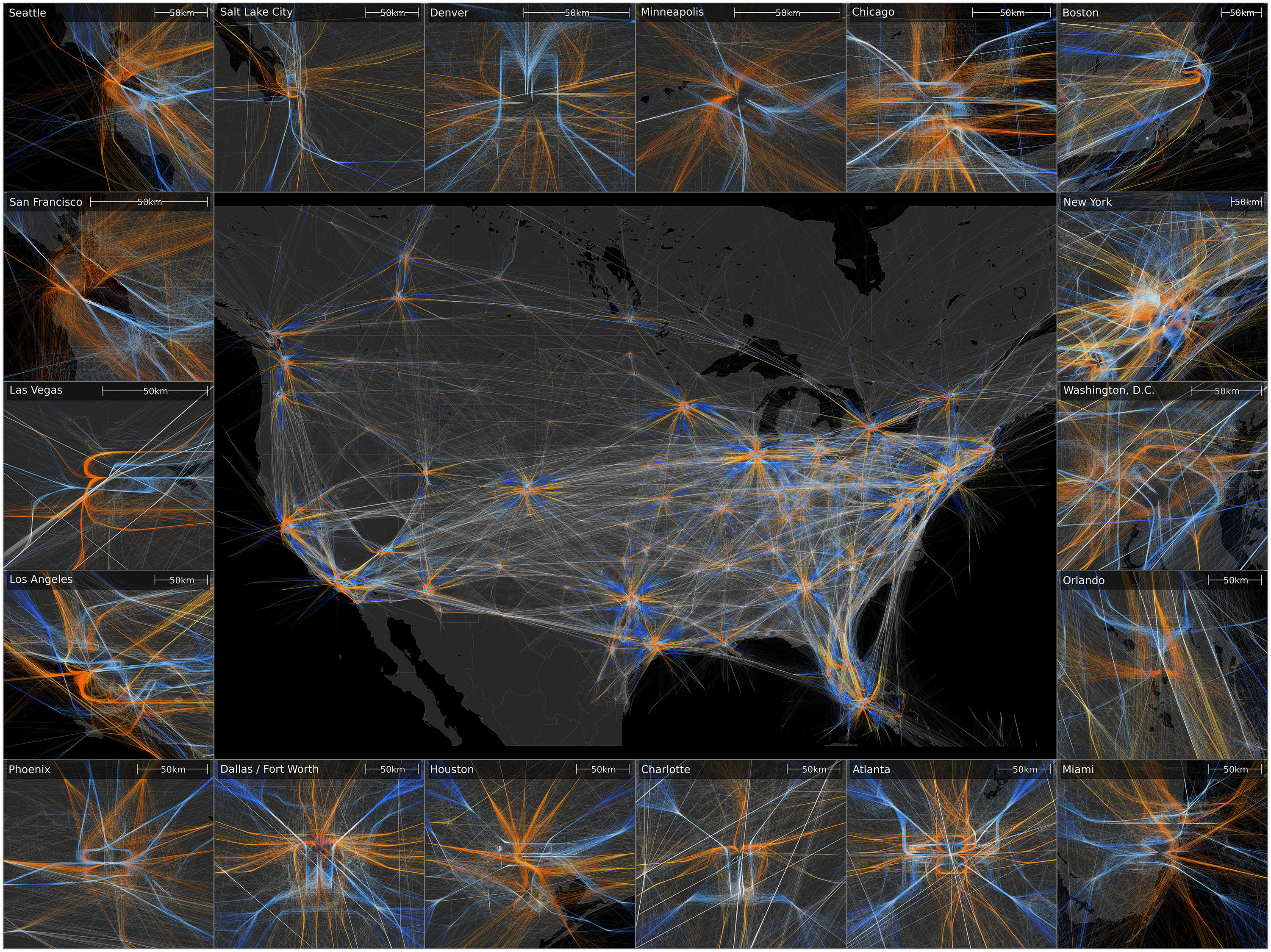 Sandia National Laboratories News Releases Managing The Data - Us air traffic map