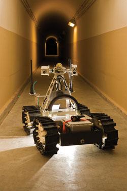 Sandia's Gemini-Scout Mine Rescue Robot