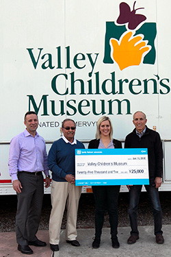 Valley Children's Museum donation