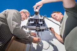 Robotic crawler inspection