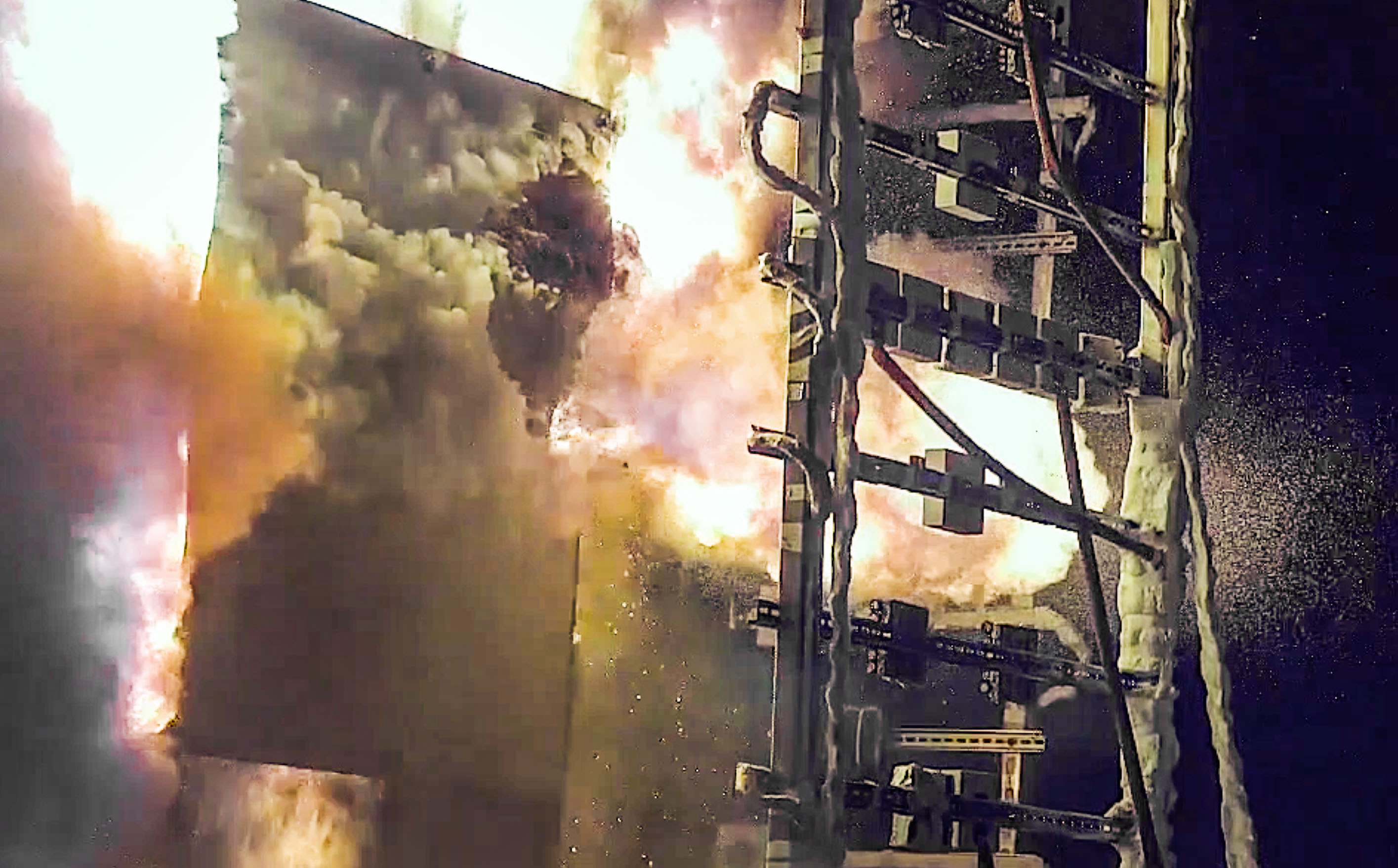 Newswise: High-speed fire footage reveals key insights for power plant safety