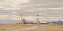 Photo of Sandia National Laboratories Tonopah Test Range