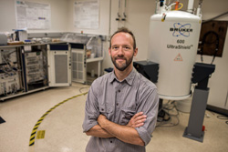 Photo of Sandia physicist Eric Sorte