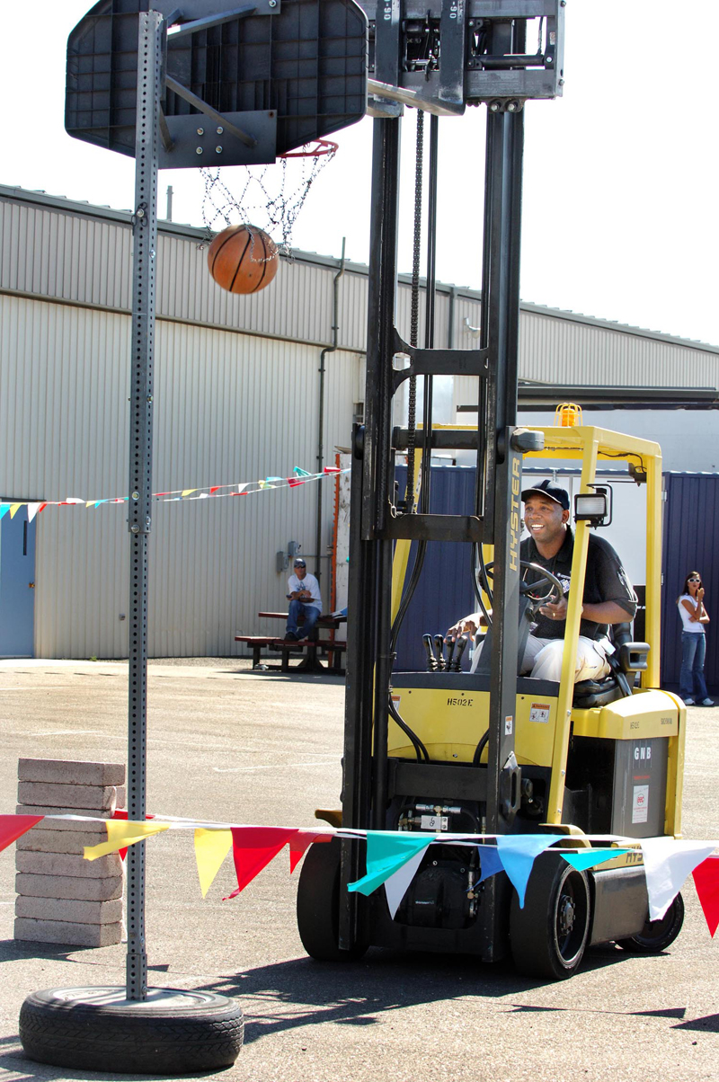 Sandia Forklift Rodeo Highlights Safety Accuracy August